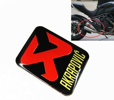 Motorcycle Exhaust Pipe Sticker Aluminium Heat-resistant Scorpio Akrapovic Decal