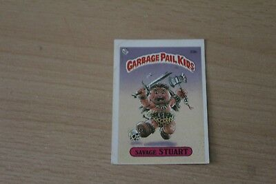 Garbage Pail Kids - Savage Stuart - 1985 Topps Chewing Gum Card