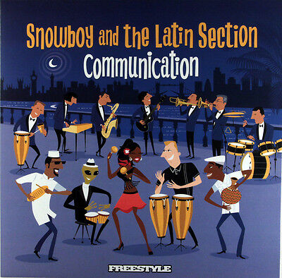 Snowboy And The Latin Section - Communication (Vinyl LP) New