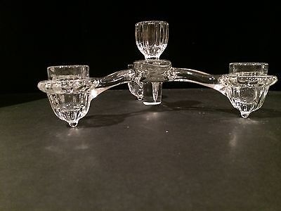 Cambridge Glass Company Arms four candle holder part