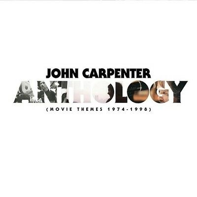 "John Carpenter Anthology Movie Themes 1974-1998 New Sealed Lp + Red 7"" In Stock"