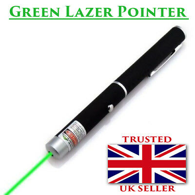 Powerful High Power Green Laser Pointer Pen 1MW Military Lazer Beam