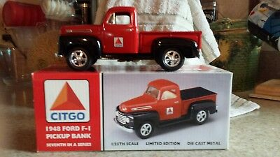 1948 CITGO 1948 Ford F-1 Pickup Bank MIB 7th in a series