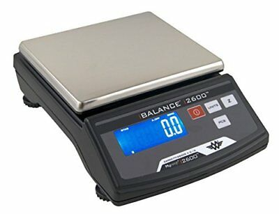 MyWeigh iBalance i2600 Table Top Precision Scale 2600 x 0.1g High Capacity Black