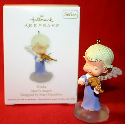 Hallmark Ornament 2011 Viola  Mary's Angels # 24 In The Series