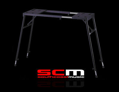 Stage Piano Stand Table Top Style Adjustable Suit 61-88 Note Keyboards