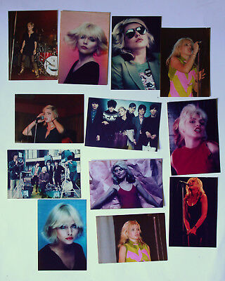 12 Vintage Old Photographs of Debbie Harry Blondie