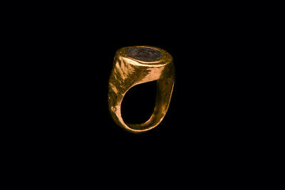 Ancient Greek Gold Finger Ring Ca. 4th century B.C.