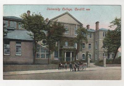 WALES - UNIVERSITY COLLEGE CARDIFF Postcard *