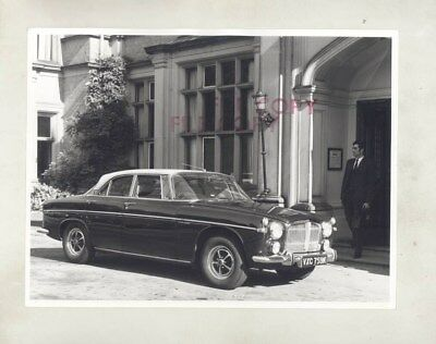 1971 Rover 3 1/2 Liter Coupe ORIGINAL Factory Photograph wy5920