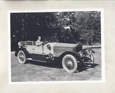 1914 Rolls Royce Silver Ghost ORIGINAL Factory Photograph wy5973