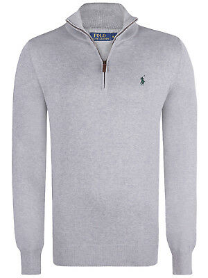 Men's Polo Ralph Lauren Mock Neck Jersey Pullovers - New Half Zip Sweatshirt