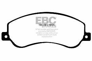 DPX2005 EBC Ultimax Front Brake Pads fit TOYOTA TOYOTA