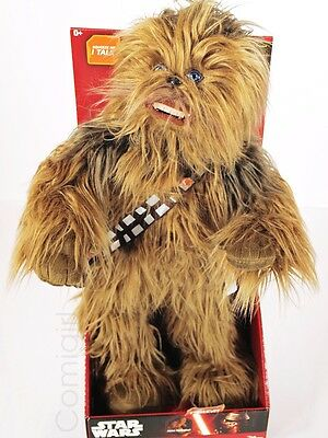 "Disney Star Wars CHEWBACCA 22"" Inch Poseable Talking Plush Underground Toys"