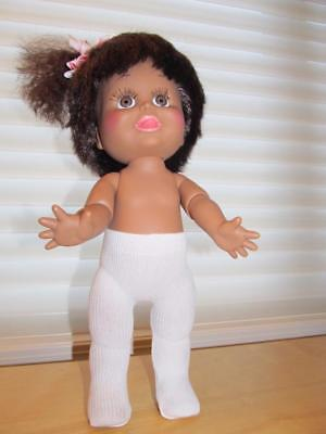 "WHITE TIGHTS for 13"" Baby Face dolls+other dolls this size"
