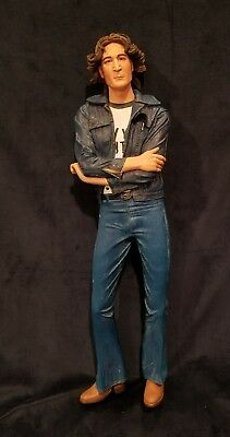 "John Lennon  18""   Doll Figurine The new york Years In Box NECA Beatles"