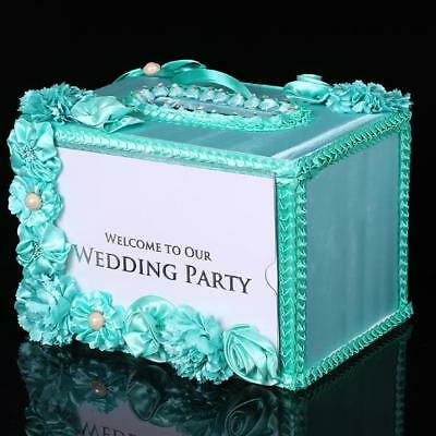 Wedding Card Money Gift Box Reception Wishing Well Decoration Shower Party Favor