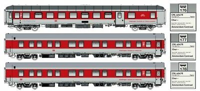 LS Models H0 49055 3tlg. Set on. ep.vi DB AG Logo Pegasus Set B DC