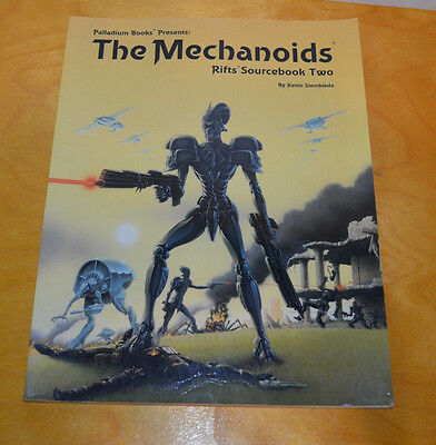 Rifts The Mechanoids Sourcebook 2 Palladium 1992 Role Playing Game Rpg