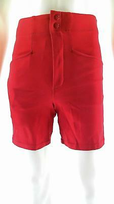 NWT Bike Baseball Softball Athletic Shorts Sport Scarlet