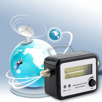Digital Satellite Signal Finder Meter Compass FTA TV Signal Receiver & Finder GF