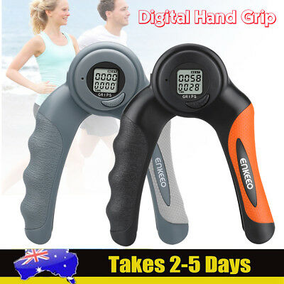 Digital Hand Grip Gripper Strength Training Build Forearm Muscle Wrist Exerciser