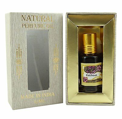 Patchouli Fragrance Perfume Oil 100% Pure and Natural  - 10ml