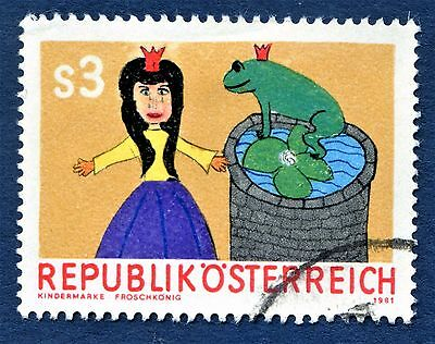 Austria The Princess and the Frog Cartoon Used