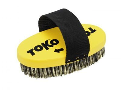 Toko Ski & Snowboard Steel Wire Oval Base Brush with Strap (25mm) Mens Unisex