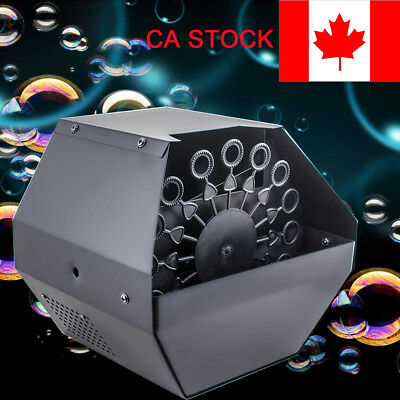 CA Bubble Machine Remote Control Stage Effect Machine special effects equipment