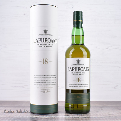 Laphroaig 18 Year Old Single Malt Scotch Whisky * DISCONTINUED 48% 700ml