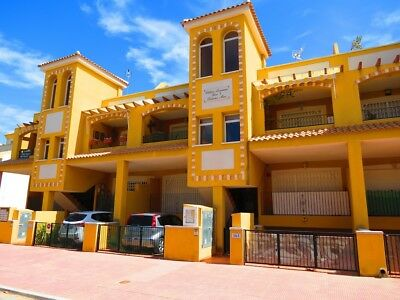 Lovely 2 Bed Apartment In Daya Nueva Spain With Private Solarium, Pool, Views,