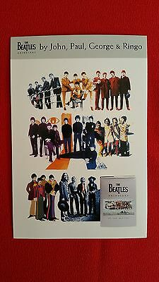 "The  Beatles       ""anthology  Promo  Postcard""     2000"
