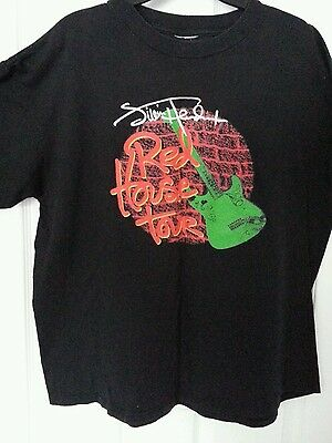 "Jimi  Hendrix        ""red  House  Tour""     T - Shirt     Xl    1999"