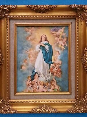 Immaculate  Conception            Framed   8  X 10   Picture
