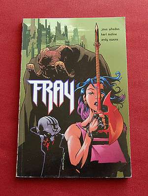 Fray - Joss Whedon Karl Moline Andy Owens - 1st Edition Dark Horse Graphic Novel