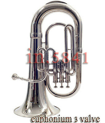 Euphonium-Bb_Valve-Chrome-Finish-W-Case-Mp-Awesome-Sound-Tuba-Sousaphone-Bra