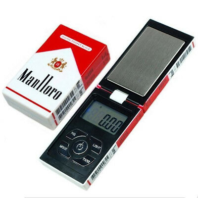500gx0.01g Jewelry Pocket Mini Digital Scale Cigarette Case Weight Balance Candy