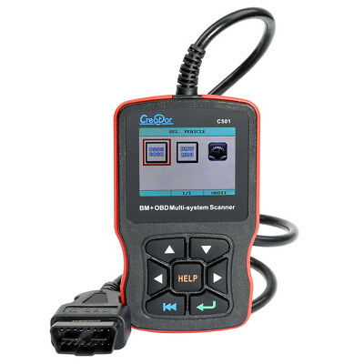 2019 Creator C501 For BMW & OBDII Multi-System Scanner Trouble Codes Reader V7.