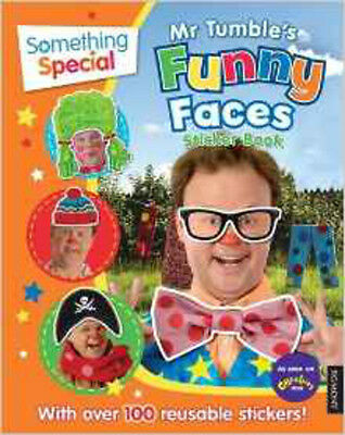 Something Special Mr Tumble's Funny Faces Sticker Book, New, Something Special B