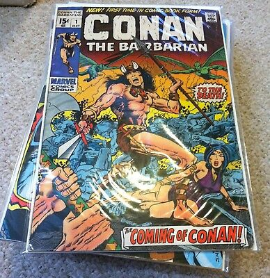 Marvel Comics Conan The Barbarian  1-275 23 Red Sonja 24 Complete Set Plus More