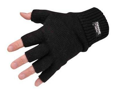 3M Thinsulate Fingerless Gloves Thermal Insulation Superior Quality