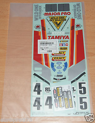 Tamiya 58525 Wild One/Wildone, 9495730/19495730 Decals/Stickers, NIP