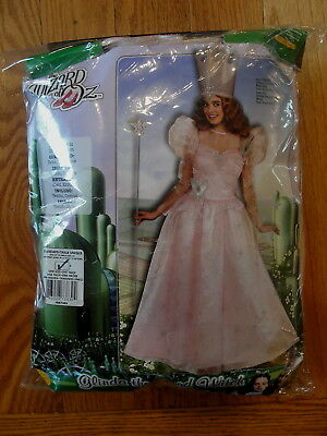 Adult Size Wizard of Oz GLINDA the Good Witch Costume Standard Up to Size 12