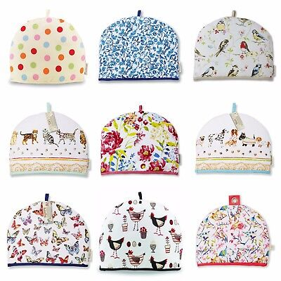 Cooksmart Insulated Tea Pot Teapot Cosy 100% Cotton Novelty Kitchen Cover
