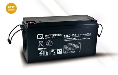 Q-Batteries 12LC-150 / 12V - 160Ah Blei Akku Zyklentyp AGM - Deep Cycle VRLA 648