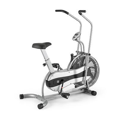Ergobike Fitness Cardio Bicycle Machine Gym Home Fat Burn Computer Speed Silver