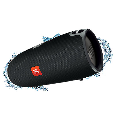 JBL Xtreme Portable Wireless Bluetooth Speaker with Built in Power bank (Black)