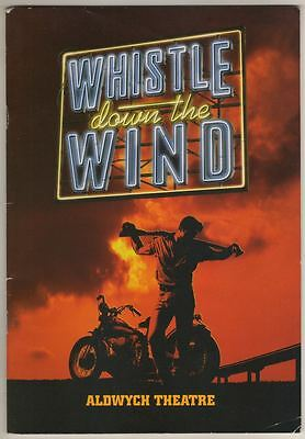 """Whistle Down The Wind"" London Playbill 2000 Jerome Pradon, Laura-Michelle Kelly"