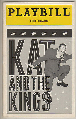 "Playbill   ""Kat and the Kings""   1999"